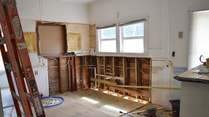 Selecting a company for renovation products